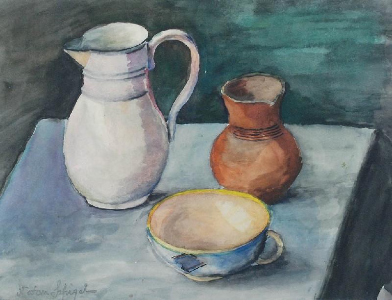 Martwa natura z dzbanem [Still life with a jug]