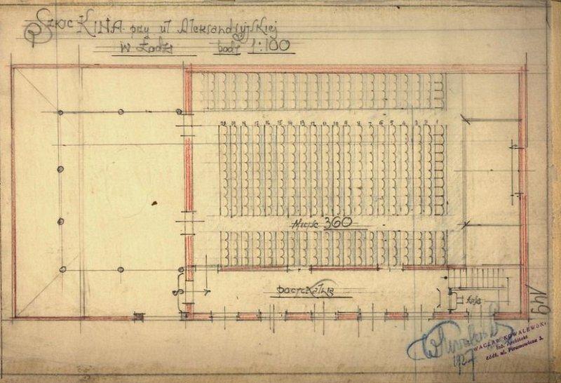 Cinema-Theater Kasandra Floor Plan