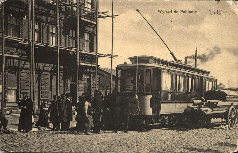 Departure from Łódź for Pabianice