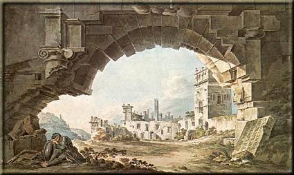 Dziedziniec zamku w Kazimierzu Dolnym [Courtyard of the castle in Kazimierz Dolny]<br />